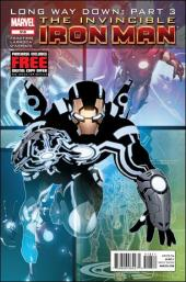 Invincible Iron Man (2008) -519- Long way down 4 : the work