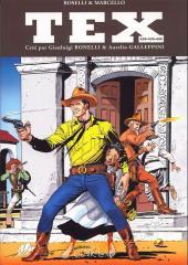 Tex (recueils) (Clair de Lune)  -438439 440- Les Invincibles - Le Secret de l'empereur - Défi sur la sierra