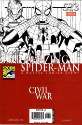 Amazing Spider-Man (The) Vol.2 (Marvel comics - 1999) -533'- Civil War, The War at Home, Part 2 of 6 - San Diego 2006 Comic Con Limited Edition