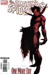 Amazing Spider-Man (The) Vol.2 (Marvel comics - 1999) -545'- One More Day, Part 4 of 4 - Marko Djurdjevic 1:2 Variant