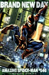 Amazing Spider-Man (The) Vol.2 (Marvel comics - 1999) -546'- Brand New Day - Brian Hitch 1:20 Incentive