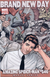Amazing Spider-Man (The) Vol.2 (Marvel comics - 1999) -546a- Brand New Day - Steve McNiven 2nd Printing Variant