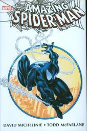Amazing Spider-Man (The) (TPB) -INTHC- Amazing Spider-Man by David Michelinie & Todd McFarlane Omnibus - Direct Market Black Costume Variant