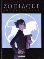 Zodiaque (Delcourt) -5- La Part du Lion