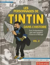 Tintin - Divers -61'- Les Personnages de Tintin dans l'Histoire (Vol. 2)