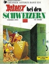 Astérix (en allemand) -16- Astérix bei den schweizern