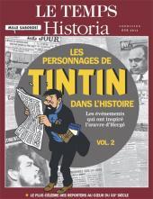Tintin - Divers -61''- Les Personnages de Tintin dans l'Histoire (vol. 2)