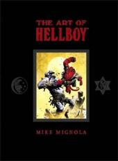 Hellboy Library Edition (2008) -HS- The art of Hellboy