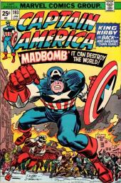 Captain America (1968) -193- The madbomb screamer in the brain!