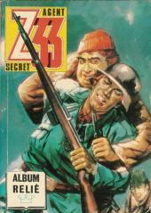 Z33 agent secret -Rec41- Album relié N°41 (du n°161 au n°164)