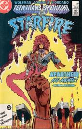 Teen Titans Spotlight (1986) -2- Starfire: apartheid no more
