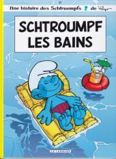 Les schtroumpfs -27a12- Schtroumpf les bains