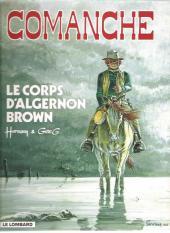 Comanche -10c2002- Le corps d'Algernon Brown