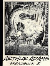 (AUT) Adams, Arthur -10- Arthur Adams Sketchbook X