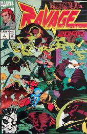 Ravage 2099 (Marvel comics - 1992) -7- Dragonklaw vs. Ravage 2099