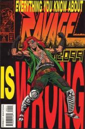 Ravage 2099 (Marvel comics - 1992) -9- Everything You Know About Ravage 2099 is Wrong