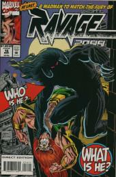 Ravage 2099 (1992) -16- Throwback : Mark of the Beast!