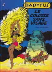 Papyrus -3c10- Le colosse sans visage