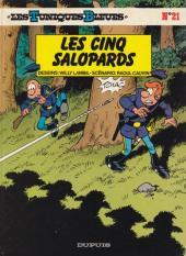 Les tuniques Bleues -21a1986- Les cinq salopards