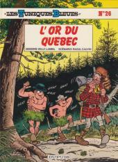 Les tuniques Bleues -26a1989- L'or du Québec