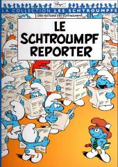 Les schtroumpfs - Collection Télé 7 jours -10- Le Schtroumpf reporter