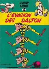 Lucky Luke -15b1979- L'évasion des Dalton