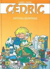 Cédric -10FL- Gâteau-surprise