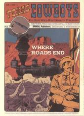 Texas Cowboys -9MR3879- Where Roads End