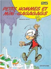 Les petits hommes -25a- Petits hommes et mini-gagagags