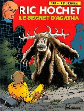 Couverture de Ric Hochet -48- Le secret d'Agatha