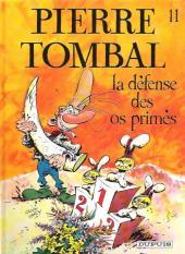 Pierre Tombal -11a2000- La défense des os primés