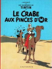Tintin (Historique) -9C1- Le crabe aux pinces d'or