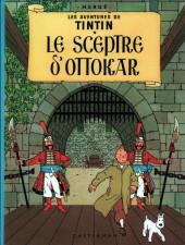 Tintin (Historique) -8C1- Le sceptre d'Ottokar