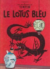 Tintin (Historique) -5C1bis- Le lotus bleu