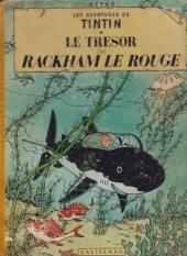 Tintin (Historique) -12B15- Le trésor de Rackham Le Rouge