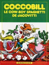 Coccobill -HS- Le cow-boy Spaghetti de Jacovitti