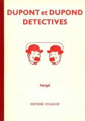 Tintin - Pastiches, parodies & pirates -'- Dupont et Dupond détectives