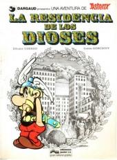 Astérix (en espagnol) -17- La residencia de los Dioses