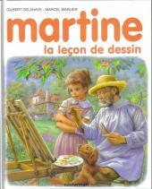 Martine -49- Martine, la leçon de dessin