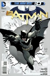 Couverture de Batman (2011) -0- Bright New Yesterday: Tomorrow