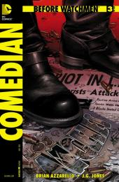 Before Watchmen: Comedian (2012) -3- Comedian 3 (of 6) - Play with fire