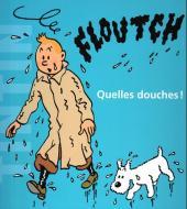 Tintin - En actionnant l'image -2- Quelles douches !