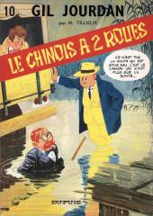 Gil Jourdan -10a77- Le chinois à 2 roues