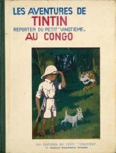 Tintin (Historique) -2TT- Tintin au Congo