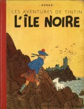 Tintin (Historique) -7A21- L'Île noire