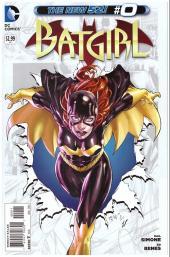 Batgirl (2011) -0- A fire in the heavens