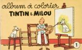 Tintin (Album à colorier) -2/1- Album N°1