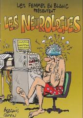 Les femmes en blanc présentent... -MR3885- Les Neurologues