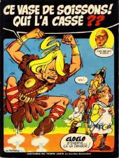 Histoires du temps jadis en bandes dessinées -2'- Ce vase de Soissons ! Qui l'a cassé ??