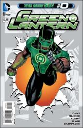 Green Lantern (2011) -0- The new normal